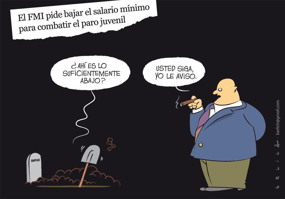 El FMI y los salarios