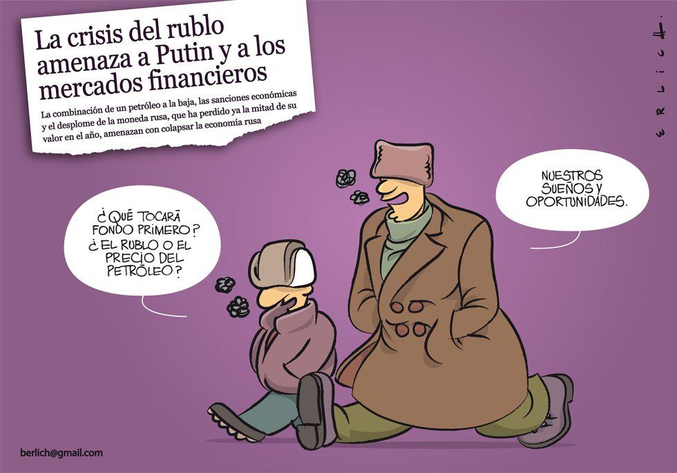 La crisis del rublo