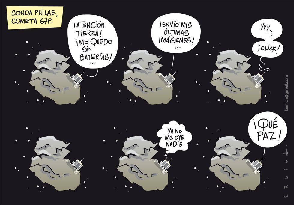 Sonda Philae, cometa 67P