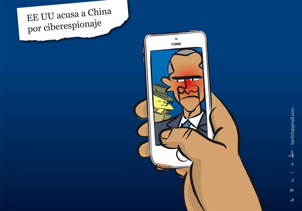 EE.UU, China, ciberespionaje