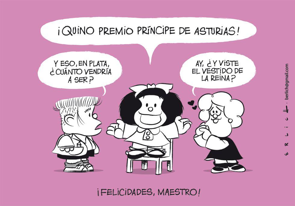 Quino Príncipe de Asturias