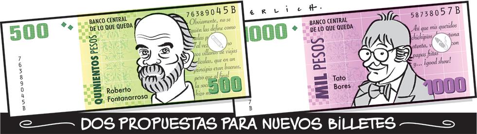 Propuesta para nuevos billetes