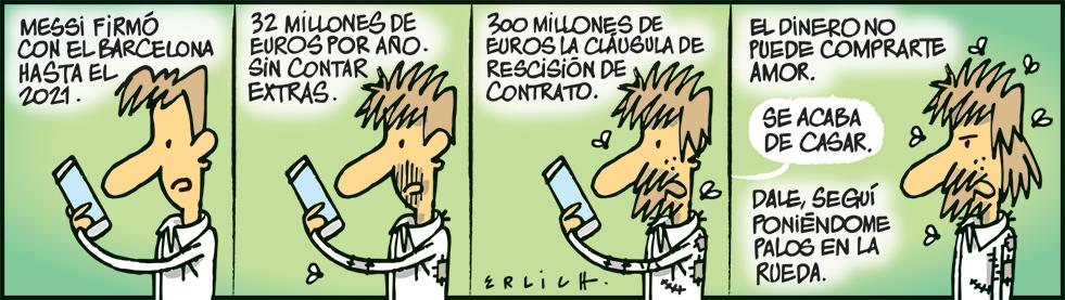 El contrato de Messi
