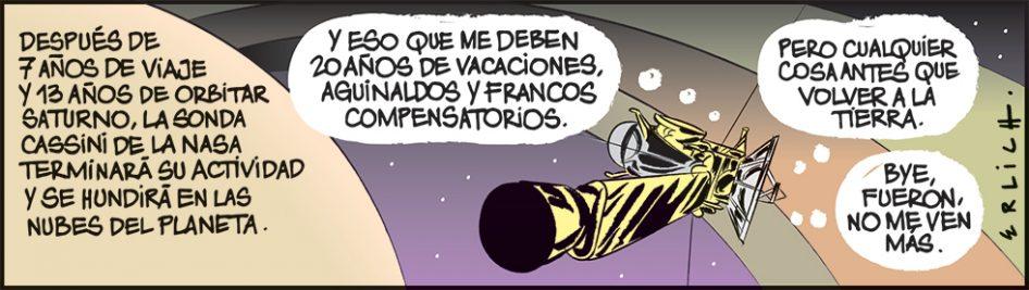 Adios a Cassini