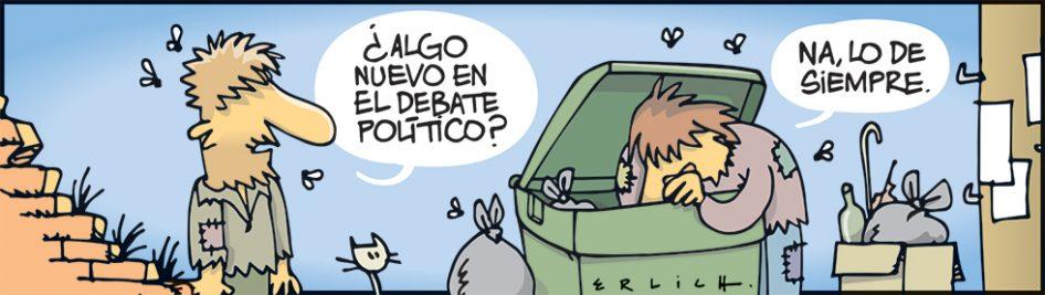 El debate político