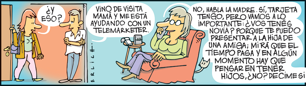 Mamá y los telemarketers
