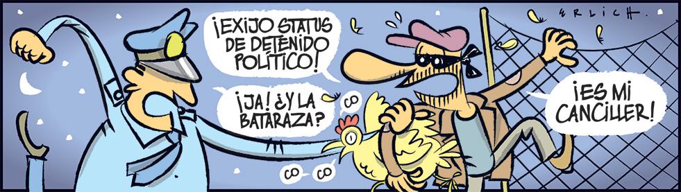 Detenido político