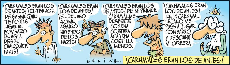 Carnavales, los de antes