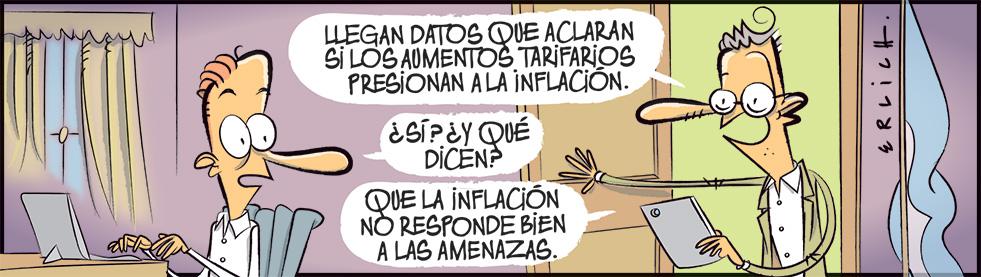 Presiones a la inflación