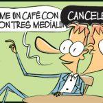 Café, medialunas, FMI.