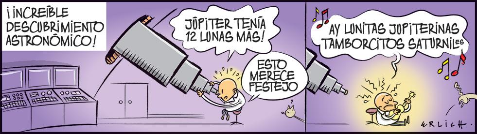 Las doce lunas de Júpiter