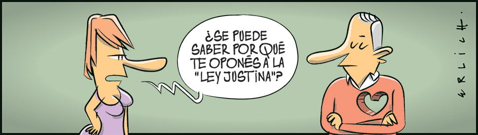"""La """"Ley Justina"""""""