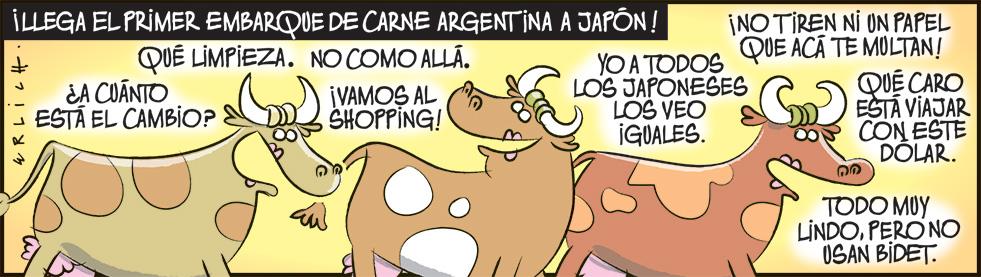 Carne argentina a Japón