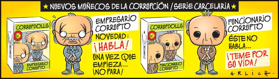Muñecos de la corrupción