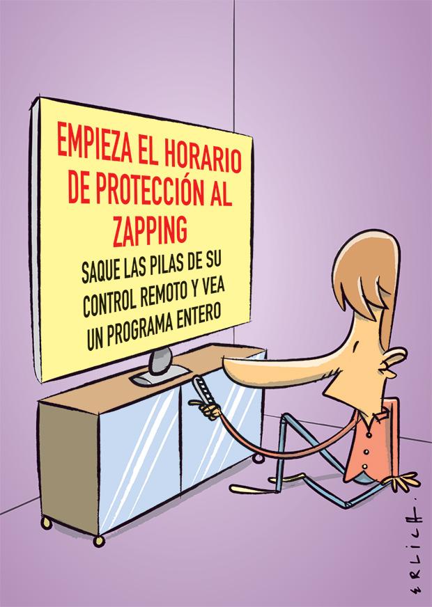 Protección al zapping