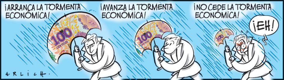 Tormenta económica