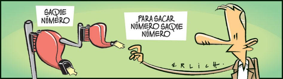 Saque número