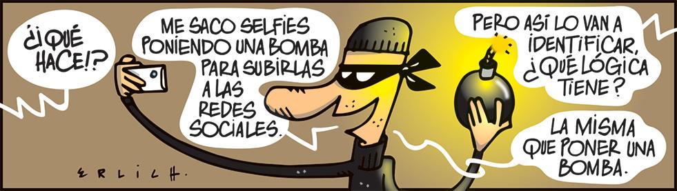 Selfies y bombas