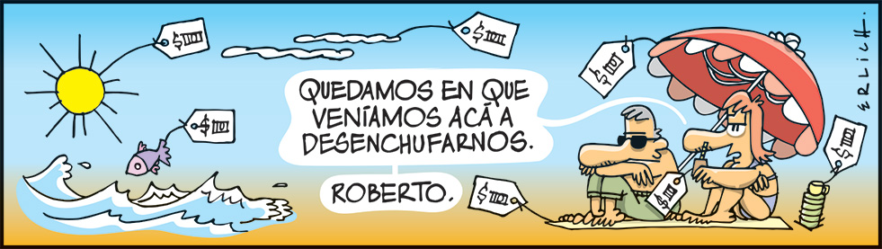 Desenchufate, Roberto