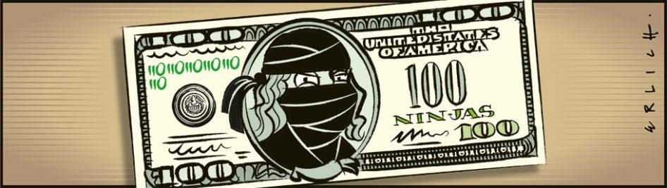 El dólar ninja