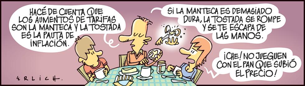 Tostadas y manteca