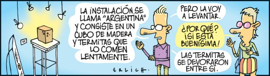 Argentina: una instalación