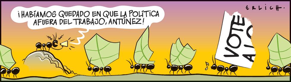 Política en el trabajo