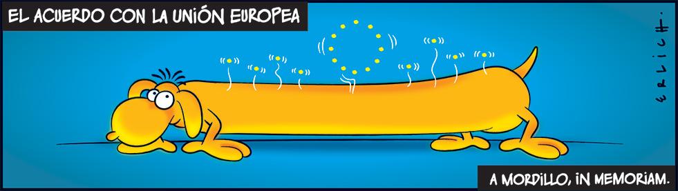 Mordillo y el acuerdo con la UE