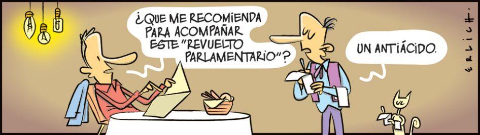 Revuelto parlamentario