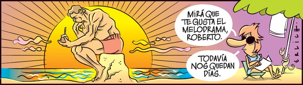Vos y tu melodrama, Roberto