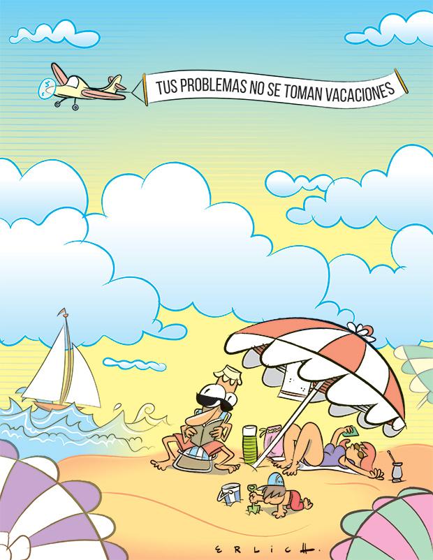 Problemas y vacaciones