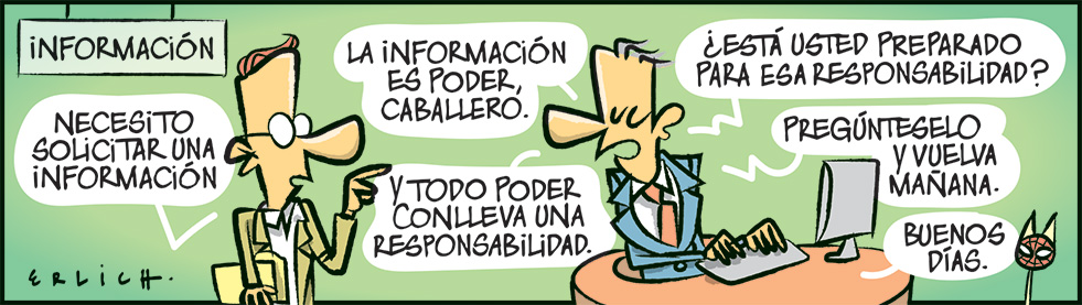 La información es poder