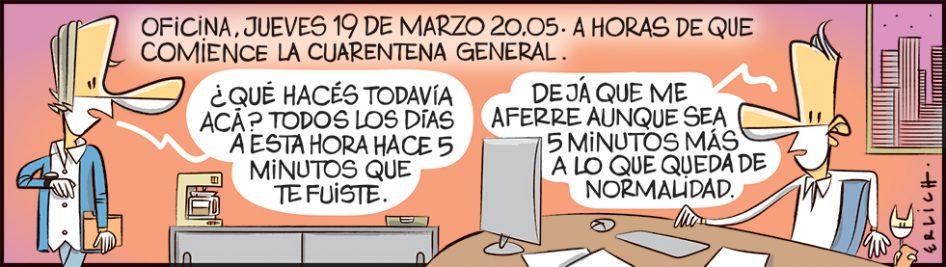 Oficina, 19 de marzo, 20.05