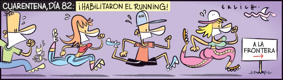 ¡Habilitaron el running!