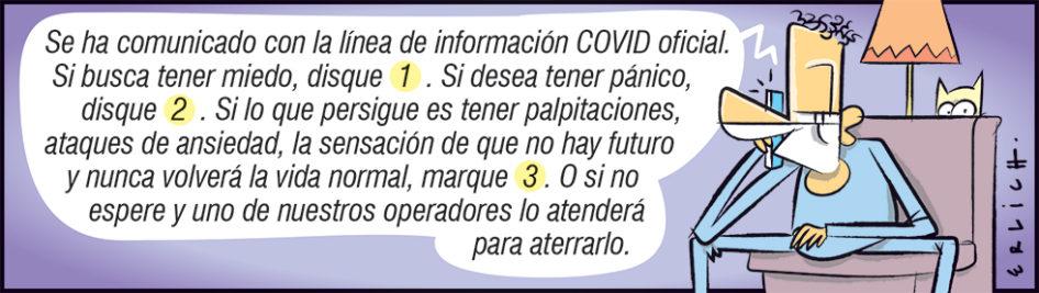Línea de información COVID oficial