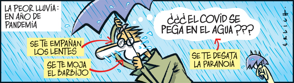 Lluvia en pandemia