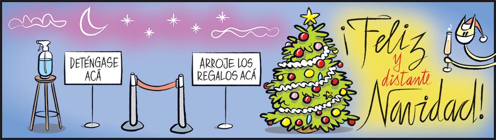 ¡Feliz (y distante) Navidad!
