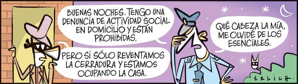 Actividad social en domicilio