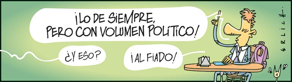 Con volumen político