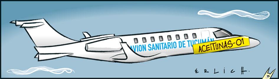¡El avión, el avión!