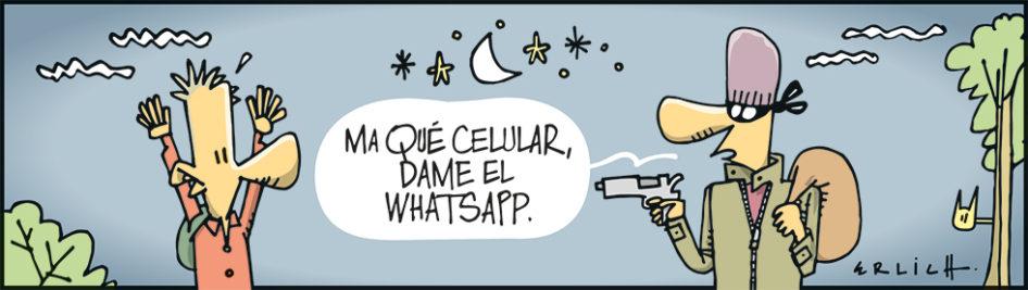 Dame el whatsapp
